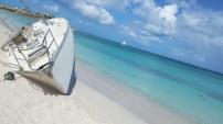 Boat by Runaway, Antigua