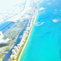 Arriving in Miami