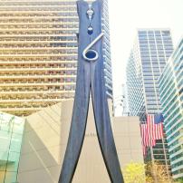 Giant Clothes Pin, 15th St. Philadelphia